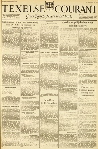 Texelsche Courant 1960-08-03