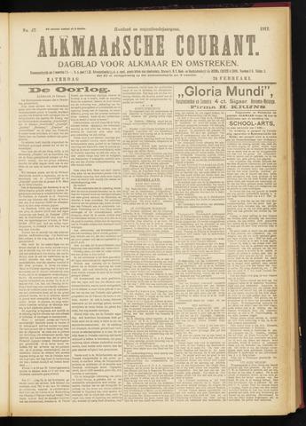 Alkmaarsche Courant 1917-02-24