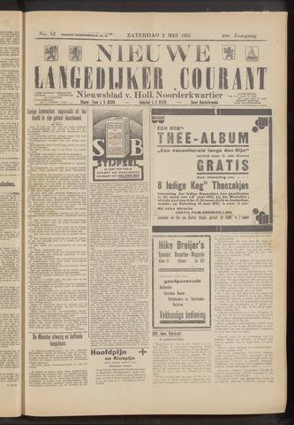 Nieuwe Langedijker Courant 1931-05-02