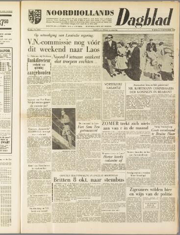 Noordhollands Dagblad : dagblad voor Alkmaar en omgeving 1959-09-09