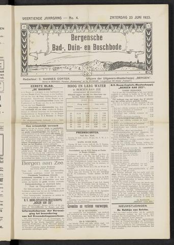 Bergensche bad-, duin- en boschbode 1923-06-23