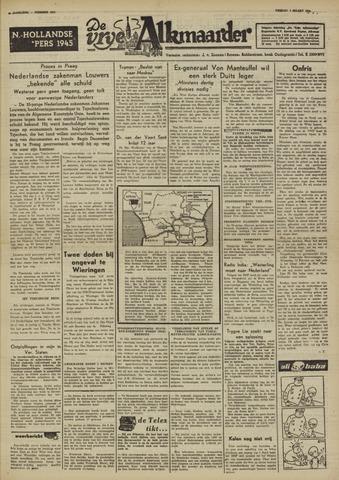 De Vrije Alkmaarder 1950-03-03
