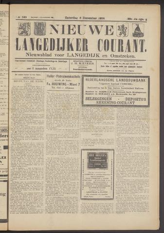 Nieuwe Langedijker Courant 1924-12-06