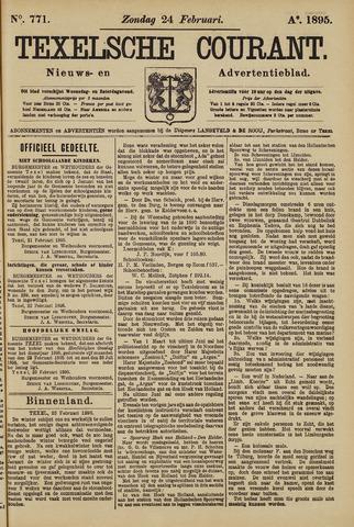Texelsche Courant 1895-02-24