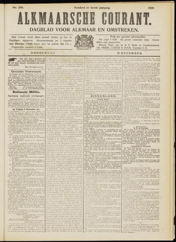 Alkmaarsche Courant 1908-12-10