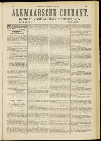 Alkmaarsche Courant 1914-03-26