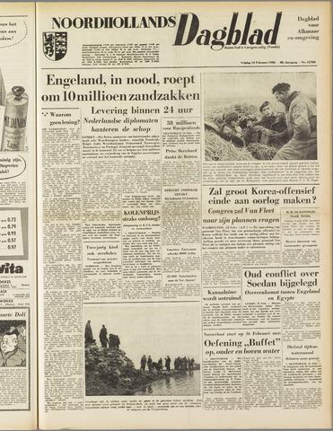 Noordhollands Dagblad : dagblad voor Alkmaar en omgeving 1953-02-13