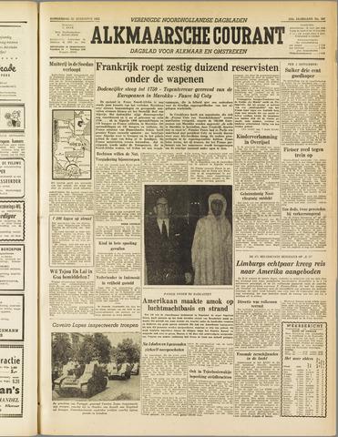 Alkmaarsche Courant 1955-08-25