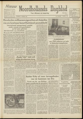 Nieuw Noordhollandsch Dagblad : voor Alkmaar en omgeving 1948-02-18