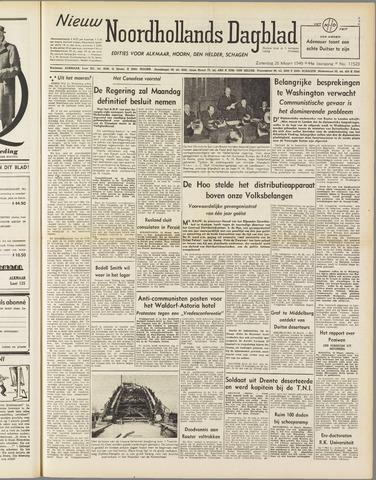 Nieuw Noordhollandsch Dagblad : voor Alkmaar en omgeving 1949-03-26