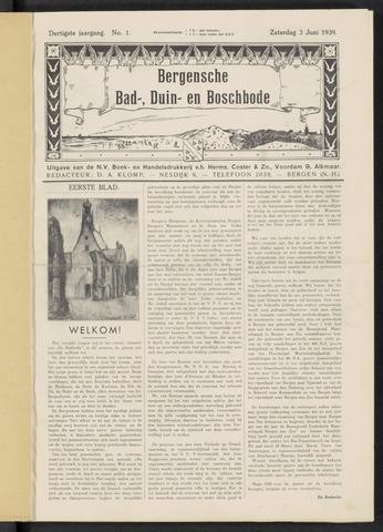 Bergensche bad-, duin- en boschbode 1939-06-03