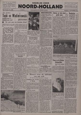 Dagblad Noord-Holland, Schager editie 1942-09-22