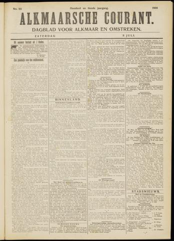 Alkmaarsche Courant 1908-07-11