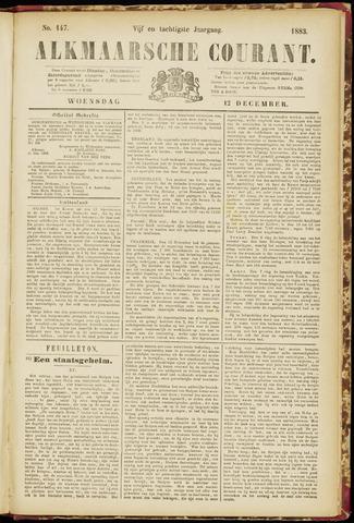 Alkmaarsche Courant 1883-12-12