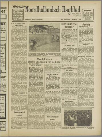Nieuw Noordhollandsch Dagblad : voor Alkmaar en omgeving 1946-09-23