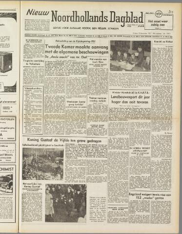 Nieuw Noordhollandsch Dagblad : voor Alkmaar en omgeving 1950-11-10
