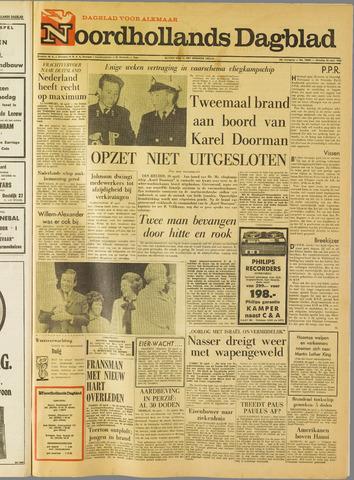 Noordhollands Dagblad : dagblad voor Alkmaar en omgeving 1968-04-30