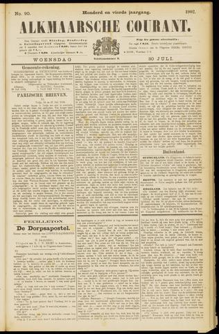 Alkmaarsche Courant 1902-07-30