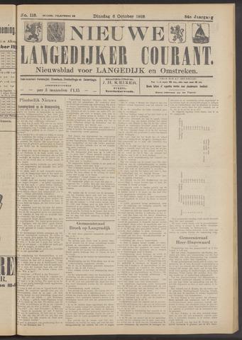 Nieuwe Langedijker Courant 1925-10-06