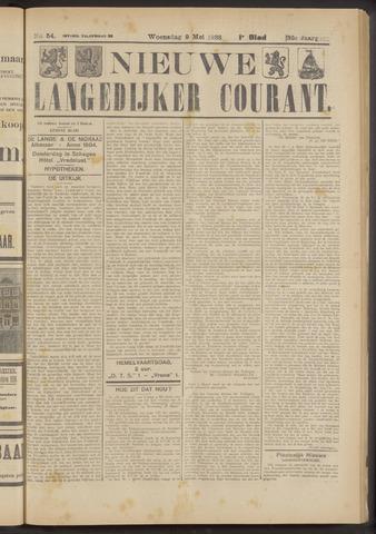 Nieuwe Langedijker Courant 1923-05-09