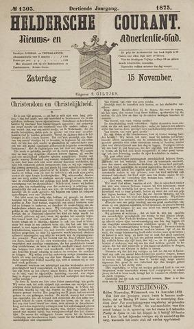 Heldersche Courant 1873-11-15