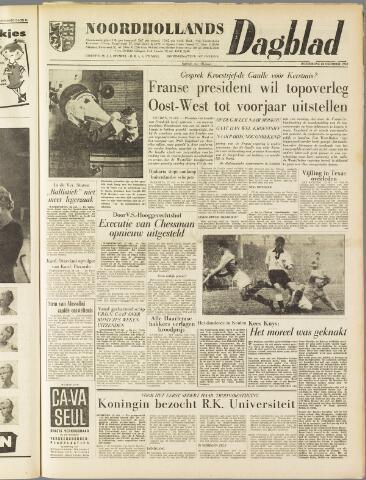 Noordhollands Dagblad : dagblad voor Alkmaar en omgeving 1959-10-22