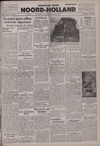 Dagblad Noord-Holland, Schager editie 1942-06-09