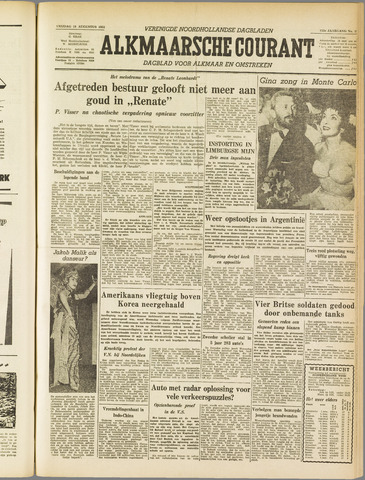 Alkmaarsche Courant 1955-08-19