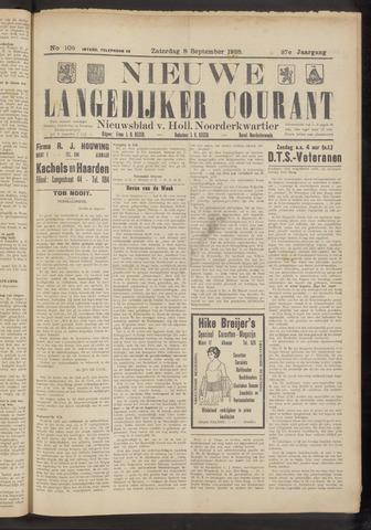 Nieuwe Langedijker Courant 1928-09-08