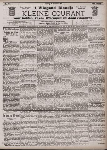 Vliegend blaadje : nieuws- en advertentiebode voor Den Helder 1902-11-08