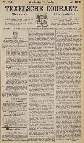 Texelsche Courant 1900-10-18