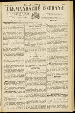 Alkmaarsche Courant 1903-03-01