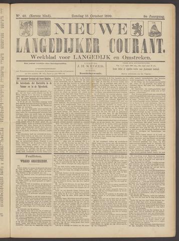 Nieuwe Langedijker Courant 1899-10-15