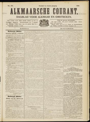 Alkmaarsche Courant 1908-11-24