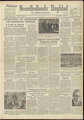 Nieuw Noordhollandsch Dagblad : voor Alkmaar en omgeving 1948-01-27