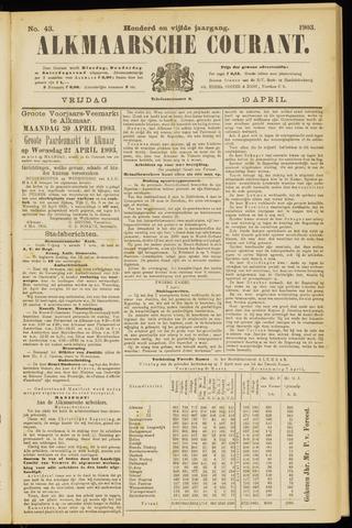 Alkmaarsche Courant 1903-04-10