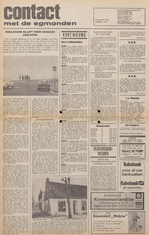 Contact met de Egmonden 1976-01-14
