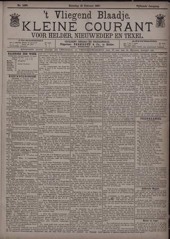 Vliegend blaadje : nieuws- en advertentiebode voor Den Helder 1887-02-12
