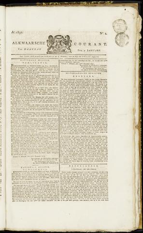 Alkmaarsche Courant 1837-01-09