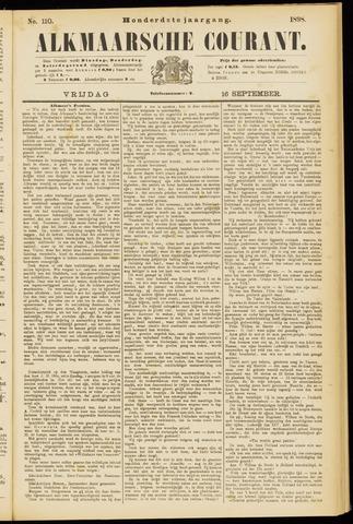 Alkmaarsche Courant 1898-09-16