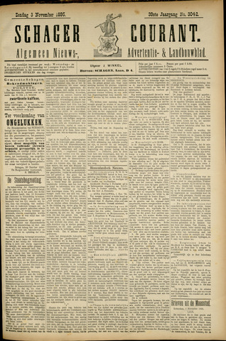 Schager Courant 1895-11-03