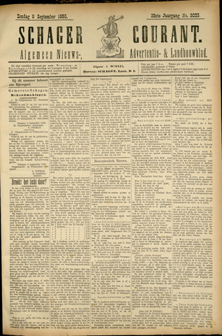 Schager Courant 1895-09-08