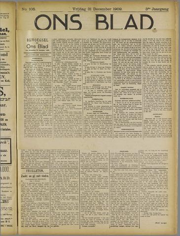 Ons Blad : katholiek nieuwsblad voor N-H 1909-12-31