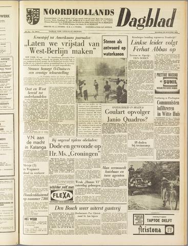 Noordhollands Dagblad : dagblad voor Alkmaar en omgeving 1961-08-28