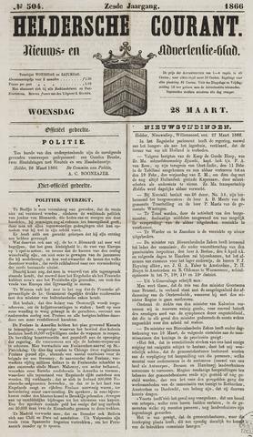 Heldersche Courant 1866-03-28