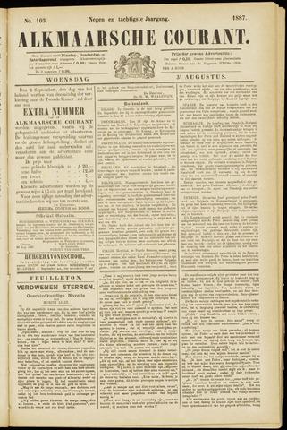 Alkmaarsche Courant 1887-08-31