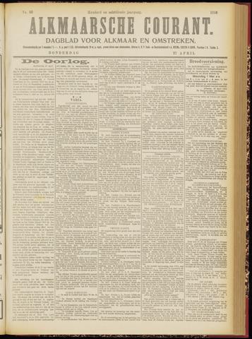 Alkmaarsche Courant 1916-04-27