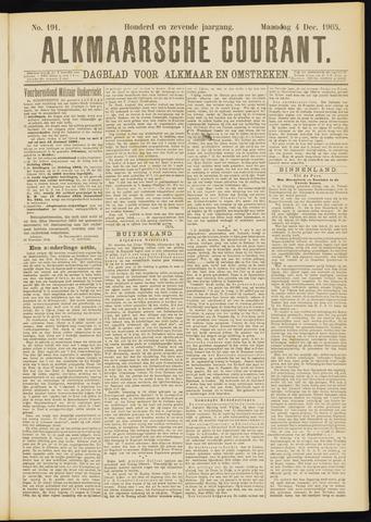Alkmaarsche Courant 1905-12-04