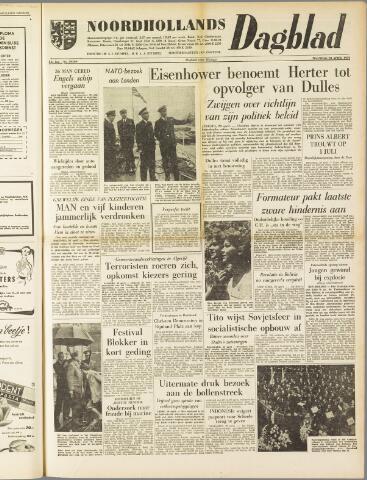 Noordhollands Dagblad : dagblad voor Alkmaar en omgeving 1959-04-20