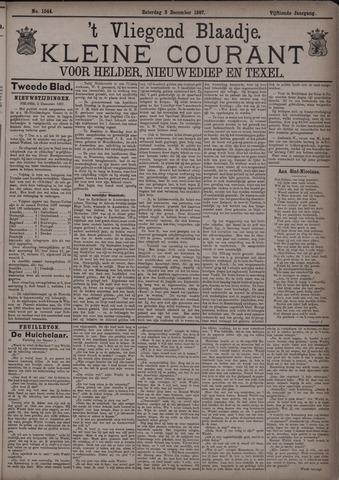Vliegend blaadje : nieuws- en advertentiebode voor Den Helder 1887-12-03